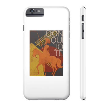 I Love Books  Don Quixote Phone Case