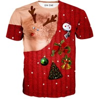 Breast Feeding Christmas T-Shirt