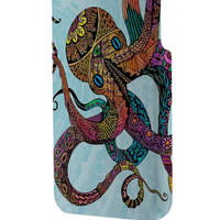 Best 3D Full Wrap Phone Case - Hard (PC) Cover with Beautiful Electric Octopus Design Design