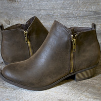 Mahogany Fashion Booties