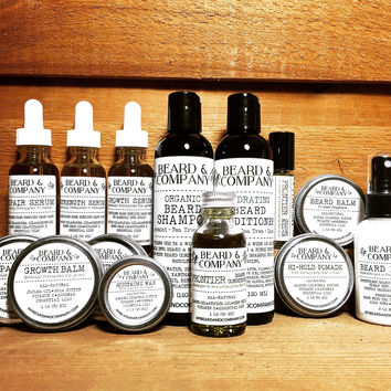 ULTIMATE PACK - COMPLETE BEARD CARE COLLECTION - Save over $43