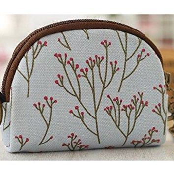 Cute Youth Korean Japanese Style Canvas Novelty Wallet Coin Purse Credit Card Photo Bill Key Holder