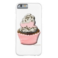 Cute muffin cupcake design Illustration