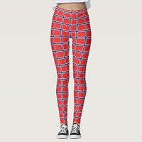 Leggings with flag of Norway
