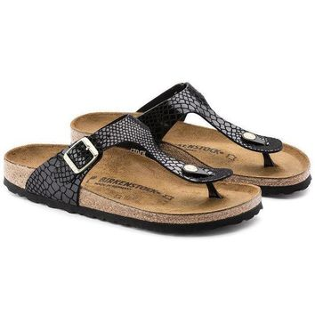 UCANUJ3V 2018 Birkenstock Gizeh Flip-flops sandals For Women Men Couples Slippers-1