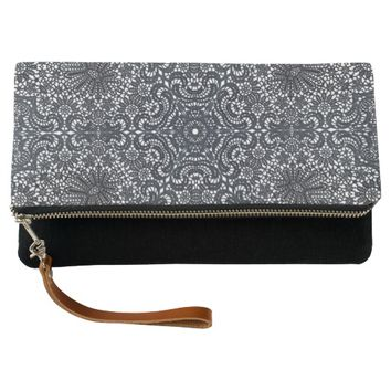 Lacy Kaleidoscope Clutch