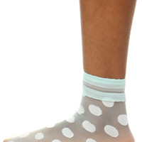 POLKA DOT SHEER SOCK
