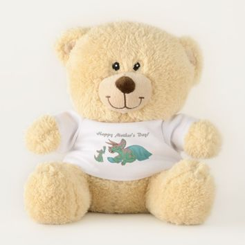 Mother's Day Triceratops Teddy Bear