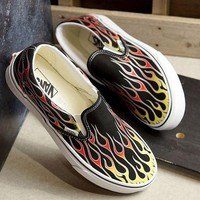 Vans Mash Up Slip-On Printed mixed colour canvas shoes