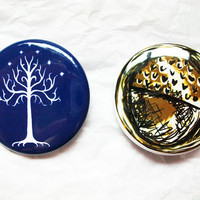 Middle-Earth Lord of the Rings 1.5 Inch Button Set
