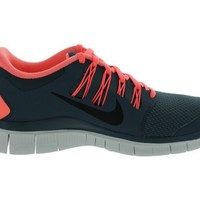 Womens Nike Free Run 5.0+ Running Shoe Dark Armory Blue/Atomic Pink/Summit White/Armory Navy Size 6.5