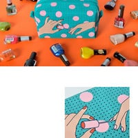 Nails Makeup Bag by kiitos