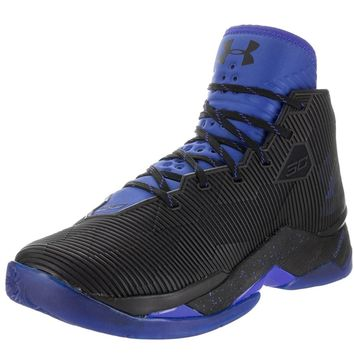 Under Armour Curry 2.5 Men US 10 Black Basketball Shoe