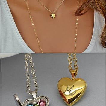 in lockets small zoom silver locket and necklace gold listing also rose fullxfull heart il