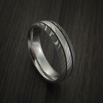 Men's Damascus Steel Ring