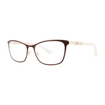 Dana Buchman - Snow Drop 53mm Ginger Eyeglasses / Demo Lenses
