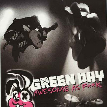 Green Day Awesome As F**K Album Cover Poster 22x34