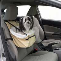 Evelots Pet Booster Seat For Car, Truck, Vehicle, Dogs & Cats,Travel, Small Pets
