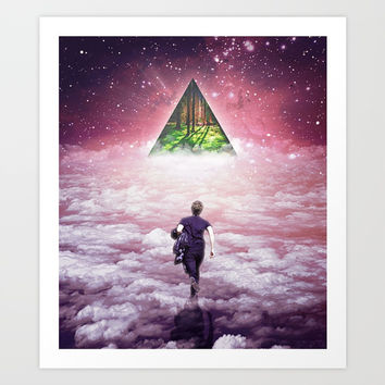 Towards Art Print by Seamless