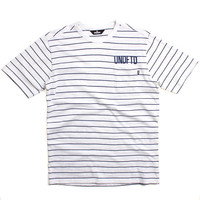 Stripe Pocket T-Shirt White