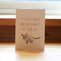 Daft Squirrel Greeting Cards