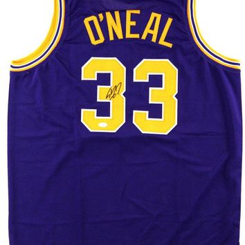 Shaquille O'Neal Signed Autographed LSU Tigers Basketball Jersey (JSA COA)