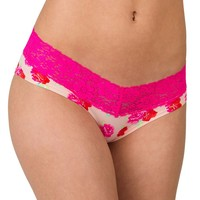 Candie's Microfiber Lace-Trim Hipster - Juniors