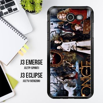 Once Upon A Time Wallpaper Y0852 Samsung Galaxy J3 Emerge, J3 Eclipse , Amp Prime 2, Express Prime 2 2017 SM J327 Case