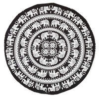 Indian Mandala Tapestry Hippie Peacock Printed Wall Hanging Rectangle Boho Bohemian Beach Yoga Mat Home Decor