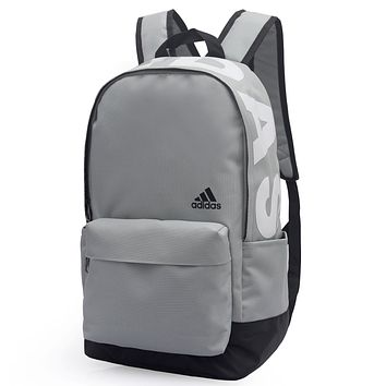 Adidas Fashion Edgy Simple School Backpack Travel Bag