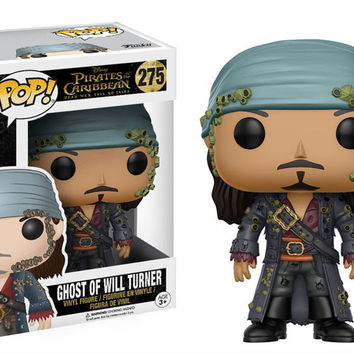 POP! DISNEY 275: PIRATES OF THE CARIBBEAN - GHOST OF WILL TURNER (PRE-ORDER)