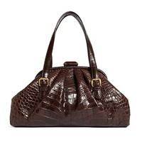 Alligator Soft Frame Bag - Brooks Brothers