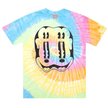 MELTING MOUSE TIE DYE TEE