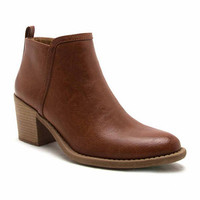 Qupid Tobin-83 Womens Bootie - JCPenney