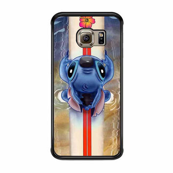 lilo and stitch waiting for the perfect wave disney samsung galaxy s7 s7 edge s3 s4 s5 s6 cases