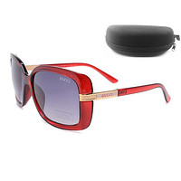 Perfect GUCCI Women Fashion Popular Summer Style Sun Shades Eyeglasses Glasses Sunglasses