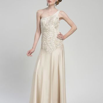 Sue Wong - One Shoulder Long Gown W1411