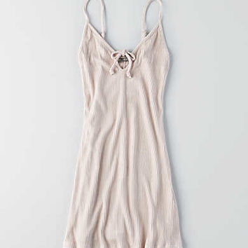 Don't Ask Why Rib Keyhole Dress, Just Rosey