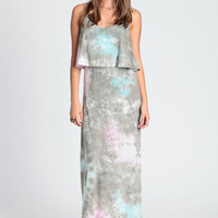 Tie Dye Tiered Dress by LA Fine - $66.00 : ThreadSence.com, Free-spirited fashion for the indie-inspired lifestyle