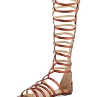 CHARLOTTE OLYMPIA - Maya knee-high gladiator sandals | Selfridges.com