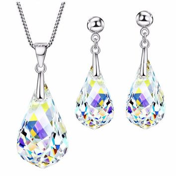 Made with Swarovski Crystal Earrings Earrings for Women Bridal J 9c633e9c40