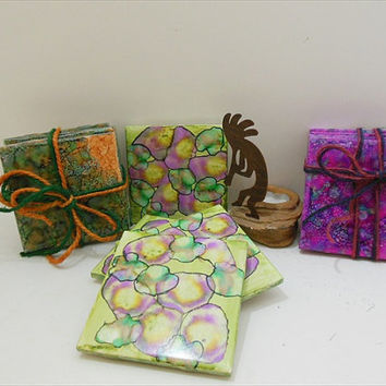 Drink Coasters - Decorative Ceramic Tile - Tile Coaster