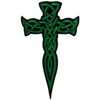 Irish Celtic Dagger (Green)