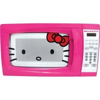 Hello Kitty MW-07009 Microwave Oven, 0.7 Cubic Feet