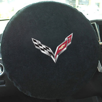 C7 Corvette Seat Armour Steering Wheel Cover