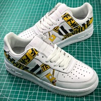 The Simpsons X Nike Air Force 1 Af1 Low Sport Shoes - Best Online Sale
