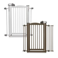 Richell One Touch Pet Gates and Hands-Free Pet Gate Optional Frame Set