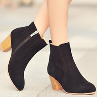 Womens Ankle Boots Zip up heels
