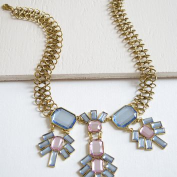 Geometric Pastels Necklace