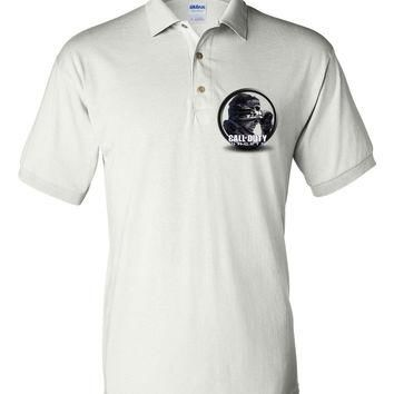 Brand New Polo T-shirt Call of Duty Ghosts #2